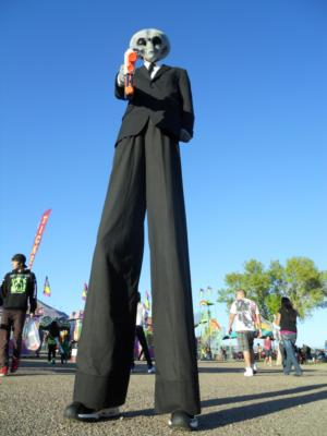 Green Jellybean Entertainment | Tucson, AZ | Stilt Walker | Photo #3