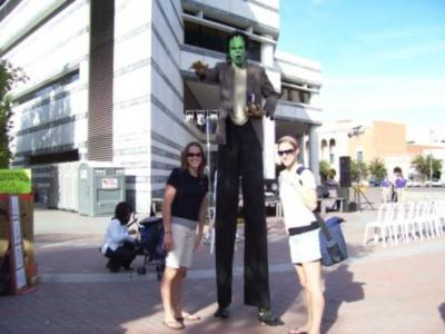 Green Jellybean Entertainment | Tucson, AZ | Stilt Walker | Photo #2