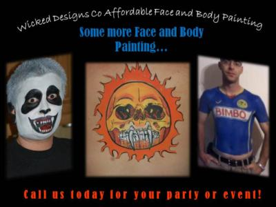 WICKID DESIGNS CO FACE & BODY PAINTING | Victorville, CA | Face Painting | Photo #10