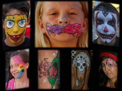 WICKID DESIGNS CO FACE & BODY PAINTING | Victorville, CA | Face Painting | Photo #11