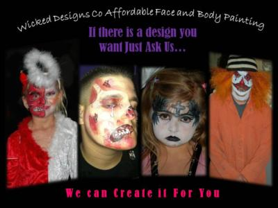 WICKID DESIGNS CO FACE & BODY PAINTING | Victorville, CA | Face Painting | Photo #8