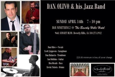 Dan Olivo Jazz Singer & his Jazz Band | Los Angeles, CA | Jazz Band | Photo #10