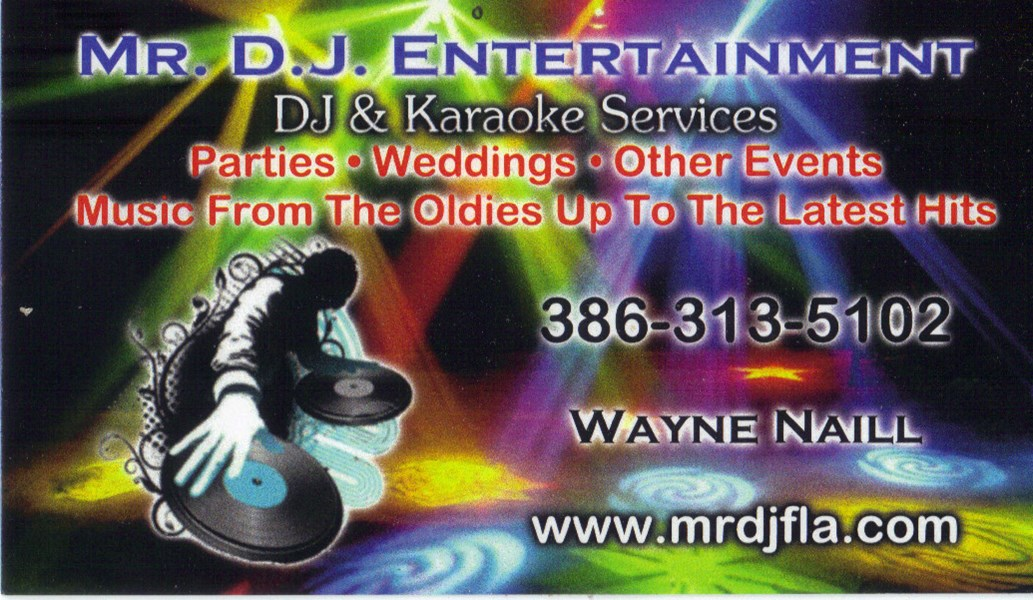 MR. D.J. Entertainment