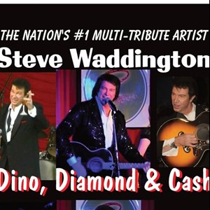 "Los Angeles, CA Neil Diamond Tribute Act | Steve Waddington ""Dino, Diamond & Cash"""