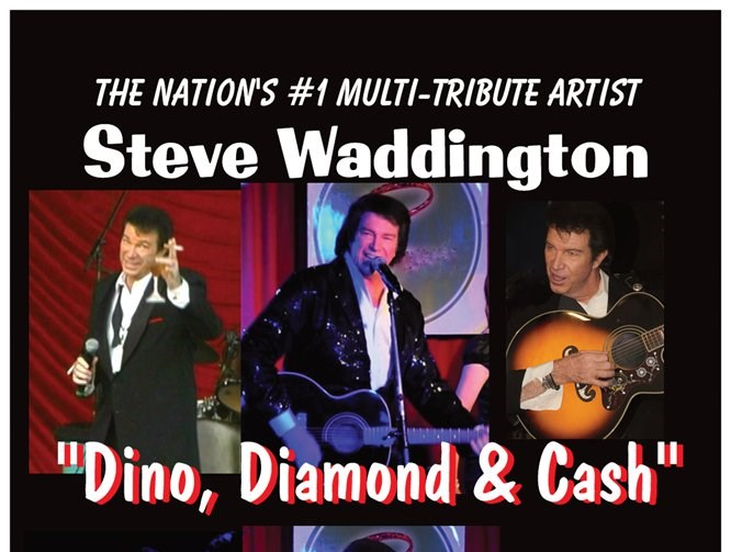 "Steve Waddington ""Dino, Diamond & Cash"" - Neil Diamond Tribute Act - Los Angeles, CA"