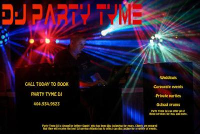party tyme dj | Powder Springs, GA | Party DJ | Photo #1