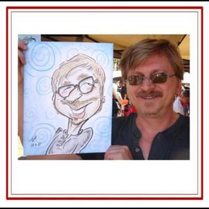 The John Pearson Familiar Image Event Artist Crew - Caricaturist - Walnut Creek, CA