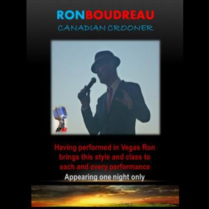 Ron Boudreau - Frank Sinatra Tribute Act - Vancouver, BC
