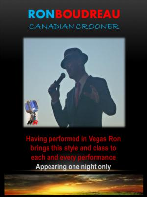 Ron Boudreau | Vancouver, BC | Frank Sinatra Tribute Act | Photo #1