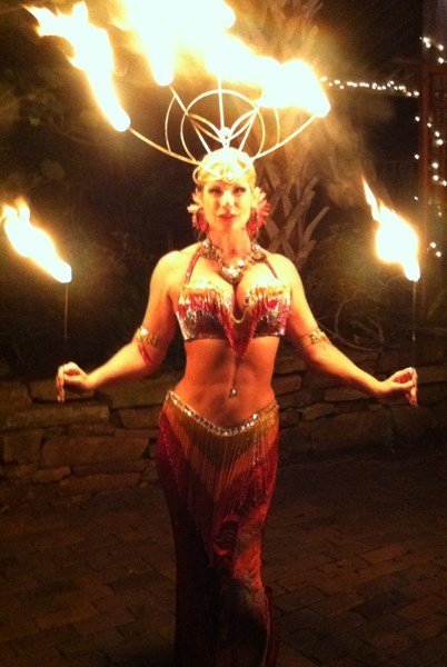 "Miraj ""Some Like it Hot"" Fire Dance - Fire Dancer - Saint Petersburg, FL"