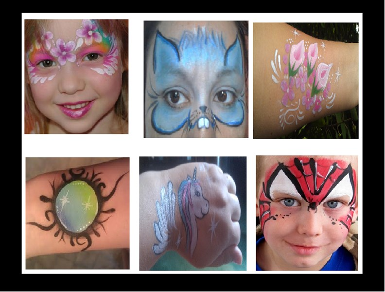 FACE PAINTING IN HENDERSONVILLE NC