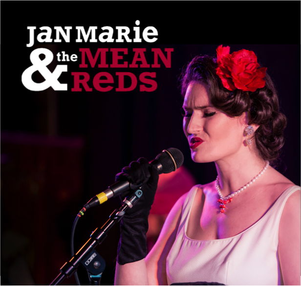 Jan Marie & The Mean Reds - Swing Band - Cambridge, MA