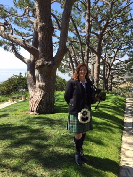 Chrisy Orcholski - Surf City Piper - Bagpiper - Westminster, CA