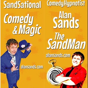 Salt Lake City, UT Hypnotist | UT Comedy Hypnosis & Magic The SandMan