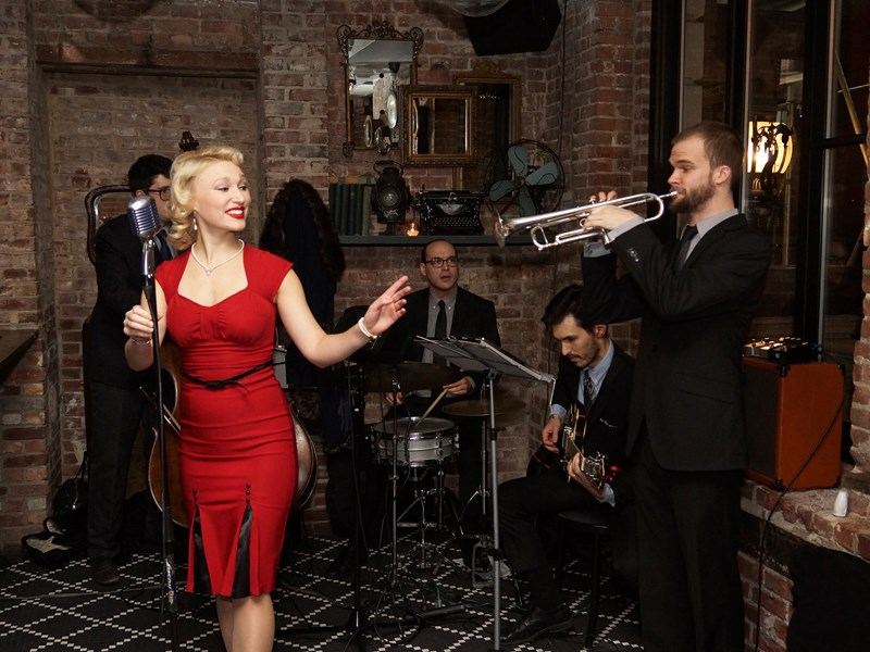 Fleur Seule - Swing Band - New York City, NY
