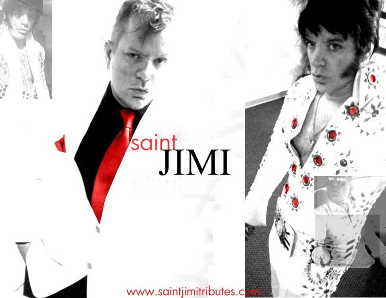 Saint Jimi - Elvis Impersonator - Houston, TX