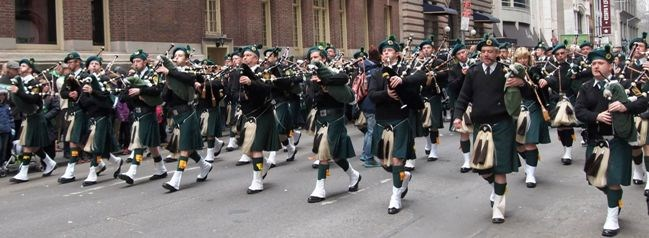St. Patrick's Day 2015, NYC