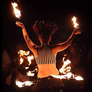 Nava Sanctum - Fire Dancer - Memphis, TN