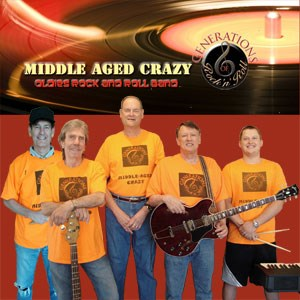 Irving Oldies Band | Middle-Aged Crazy Band