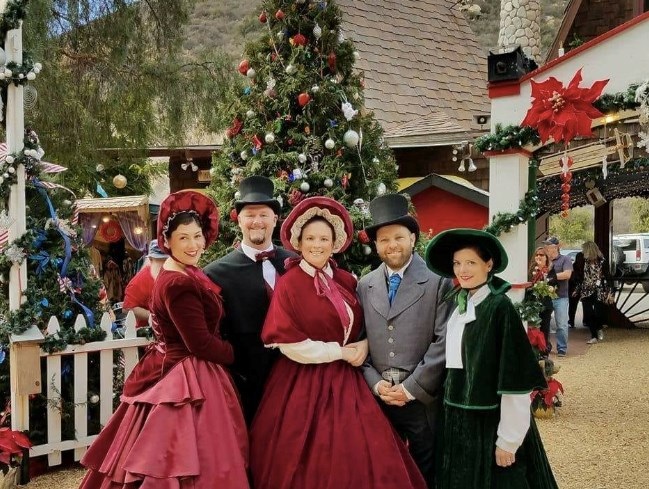 the fireside carolers christmas caroler mission viejo ca