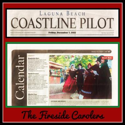 The Fireside Carolers | Mission Viejo, CA | Christmas Carolers | Photo #6