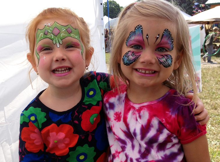 The Painted Lady Face Art - Face Painter - Traverse City, MI