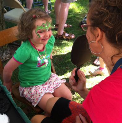 The Painted Lady Face Art | Traverse City, MI | Face Painting | Photo #6