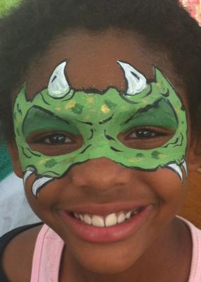 The Painted Lady Face Art | Traverse City, MI | Face Painting | Photo #2