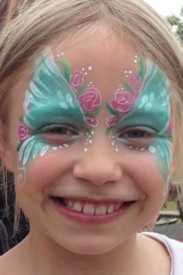 The Painted Lady Face Art | Traverse City, MI | Face Painting | Photo #16