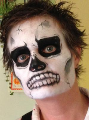 The Painted Lady Face Art | Traverse City, MI | Face Painting | Photo #10