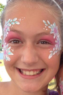 The Painted Lady Face Art | Traverse City, MI | Face Painting | Photo #3