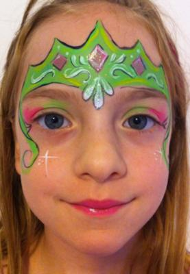The Painted Lady Face Art | Traverse City, MI | Face Painting | Photo #17