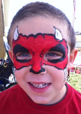 The Painted Lady Face Art | Traverse City, MI | Face Painting | Photo #15