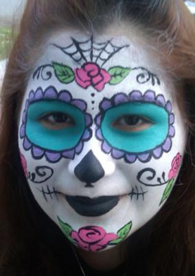 The Painted Lady Face Art | Traverse City, MI | Face Painting | Photo #13