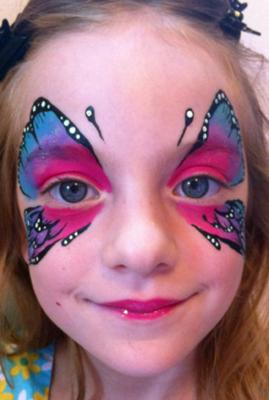 The Painted Lady Face Art | Traverse City, MI | Face Painting | Photo #1