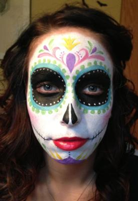 The Painted Lady Face Art | Traverse City, MI | Face Painting | Photo #11