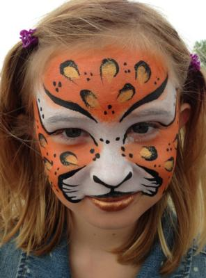 The Painted Lady Face Art | Traverse City, MI | Face Painting | Photo #4