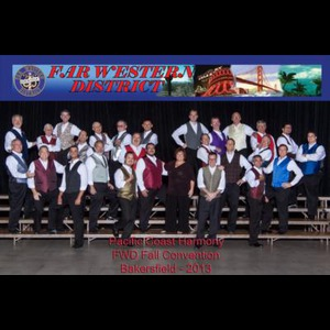 Chula Vista Barbershop Quartet | Pacific Coast Harmony