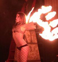 Ariane Origine  | Santa Monica, CA | Fire Dancer | Photo #1