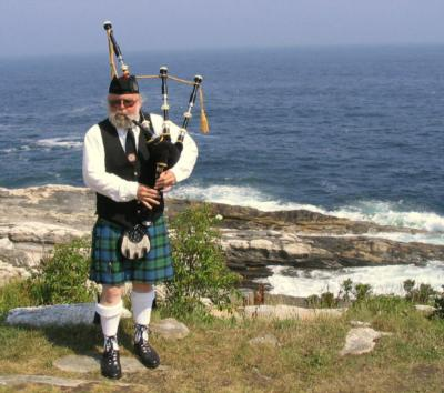 Jeff Herbster | Portland, ME | Bagpipes | Photo #1