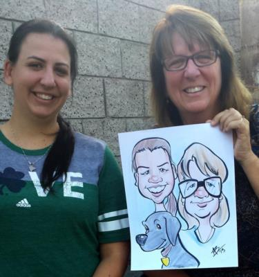 Toon Upz | Los Angeles, CA | Caricaturist | Photo #1