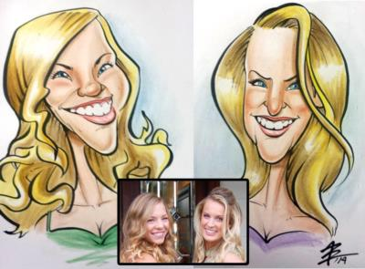 Toon Upz | Los Angeles, CA | Caricaturist | Photo #10