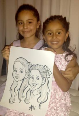 Toon Upz | Los Angeles, CA | Caricaturist | Photo #8