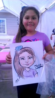 Toon Upz | Los Angeles, CA | Caricaturist | Photo #4