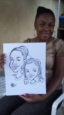 Toon Upz | Los Angeles, CA | Caricaturist | Photo #9