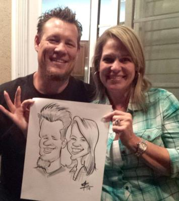 Toon Upz | Los Angeles, CA | Caricaturist | Photo #6