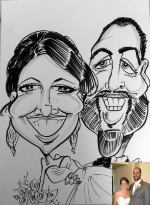Caricatures by Steph | Des Moines, IA | Caricaturist | Photo #5