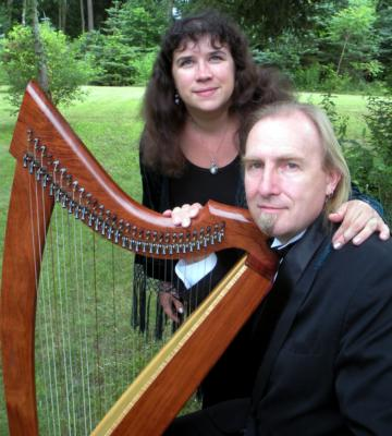 The Harper and The Minstrel | Boston, MA | Chamber Music Duo | Photo #3