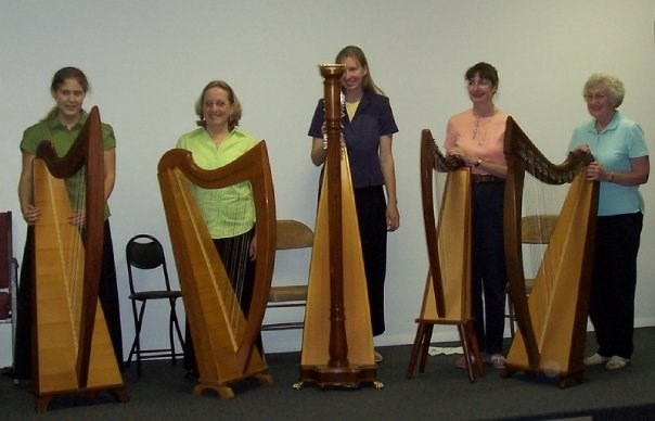 Heart Strings Harp Circle.