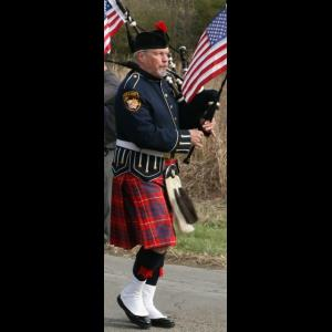 Beech Grove Bagpiper | Gerry Kelly Fritsch